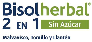 Bisolherbal 2 en 1 Malvavisco, Tomillo y Llantén sin azúcar (jarabe)